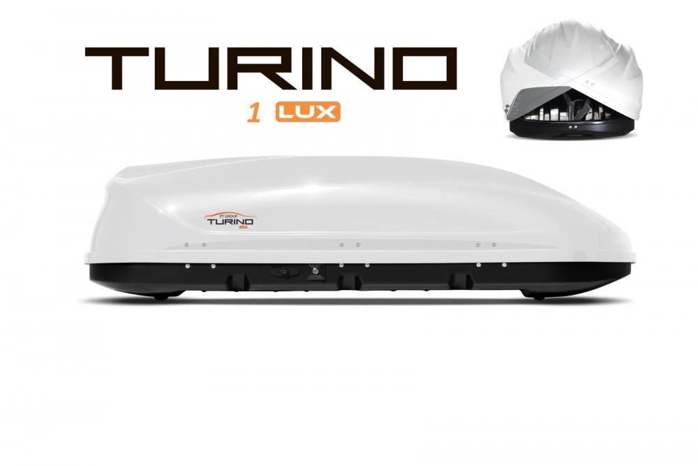 Автобокс Turino 1 Lux (410 л) (двустороннее открытие)