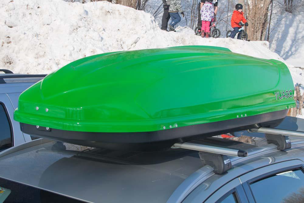 Автобокс Avatar (460 л) (окрашенный) (одностороннее открытие)